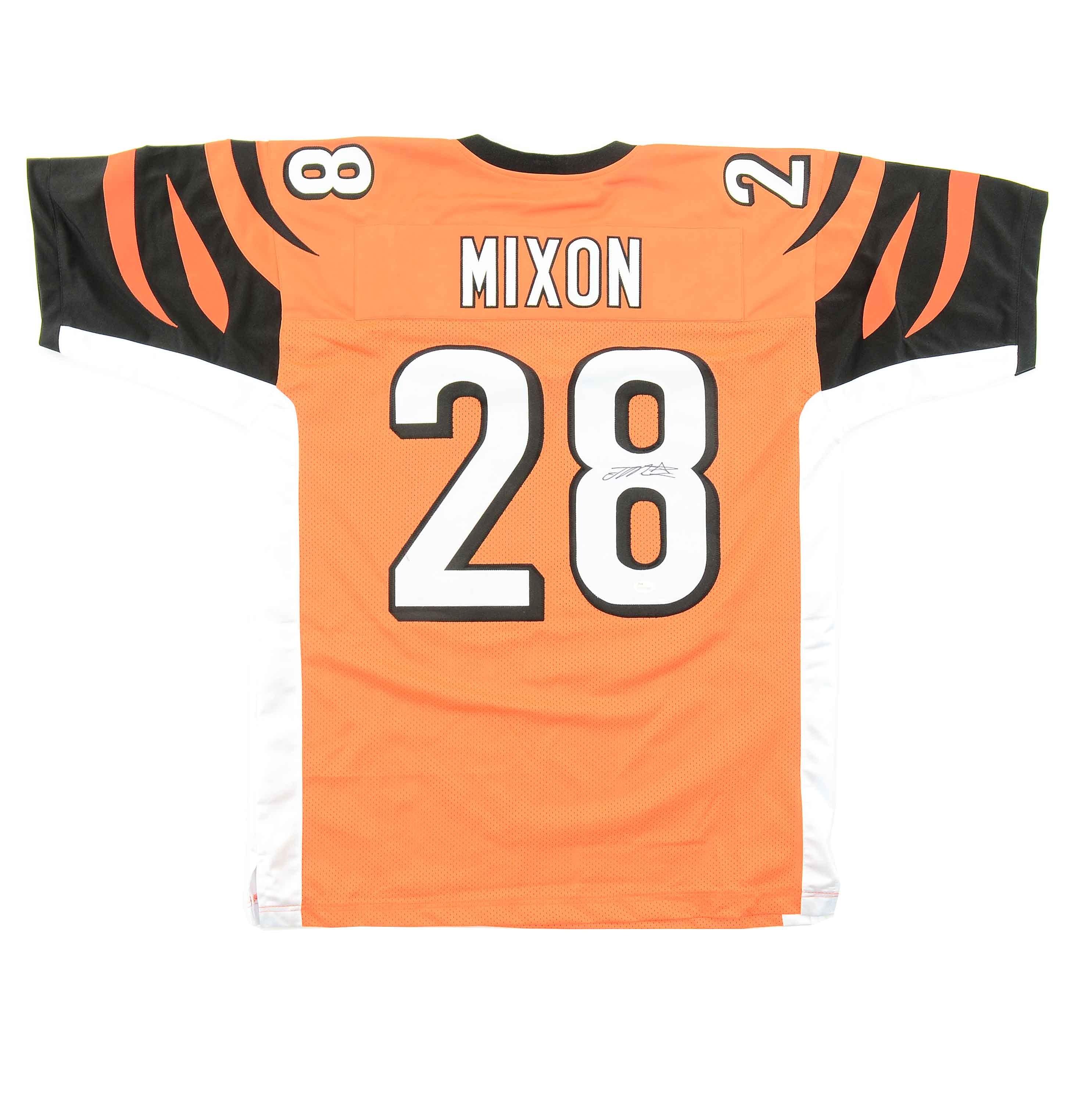 Joe Mixon Signed Bengals Jersey  COA