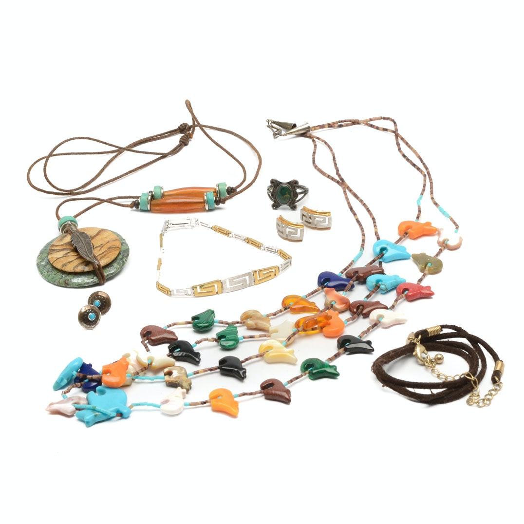 Assorted Sterling Silver and Costume Jewelry