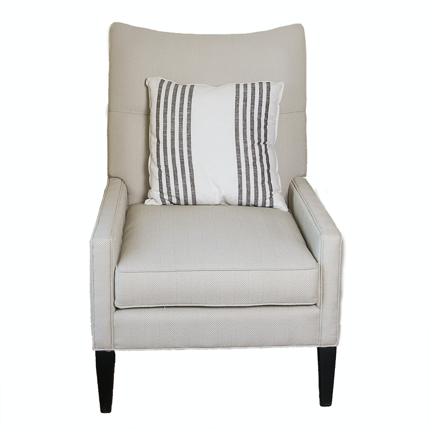 Contemporary Upholstered Armchair by Southern Furniture Company