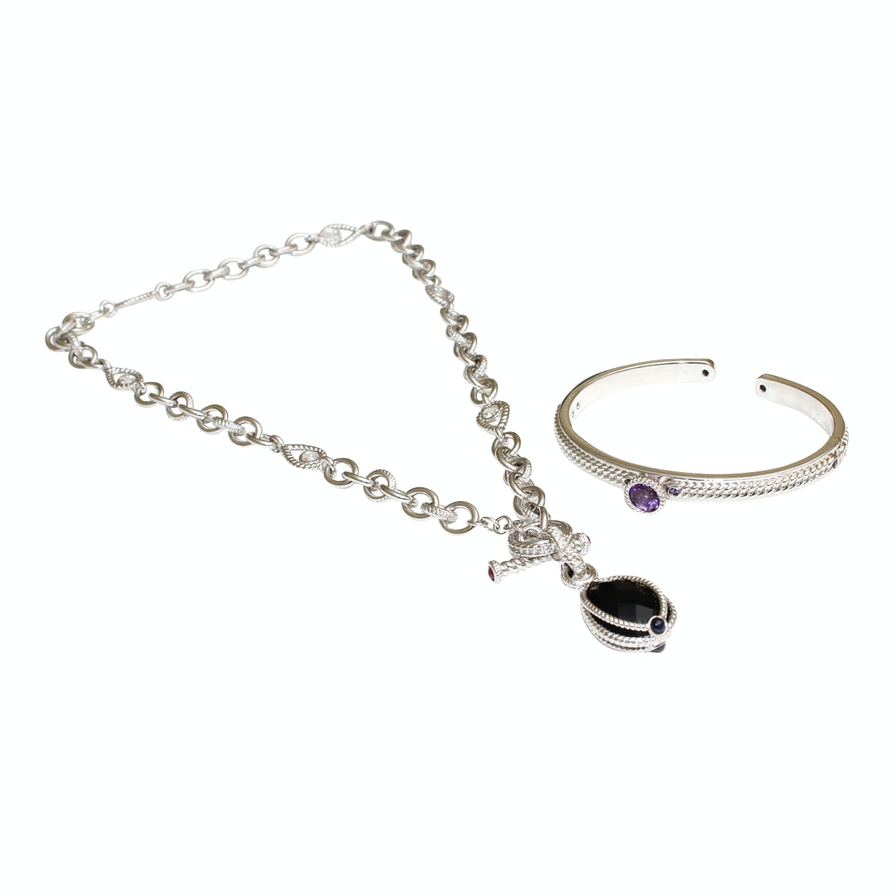 Atelier Sterling Silver Jewelry with Gemstones