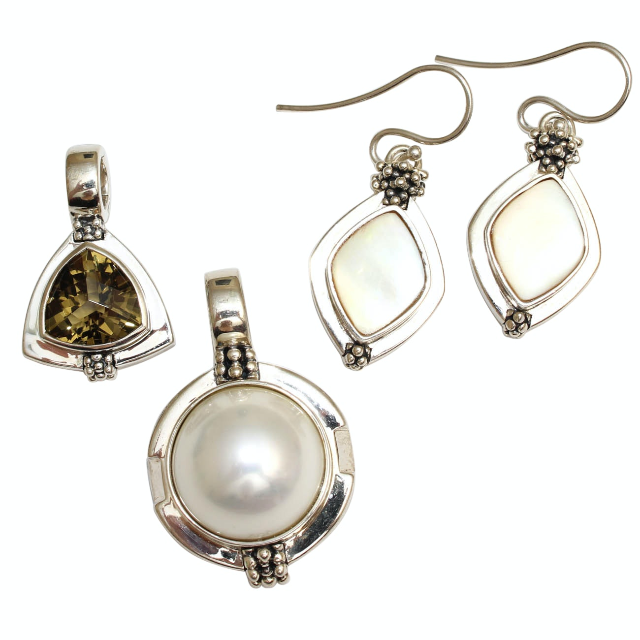 Michael Dawkins Sterling Silver Jewelry with Gemstones