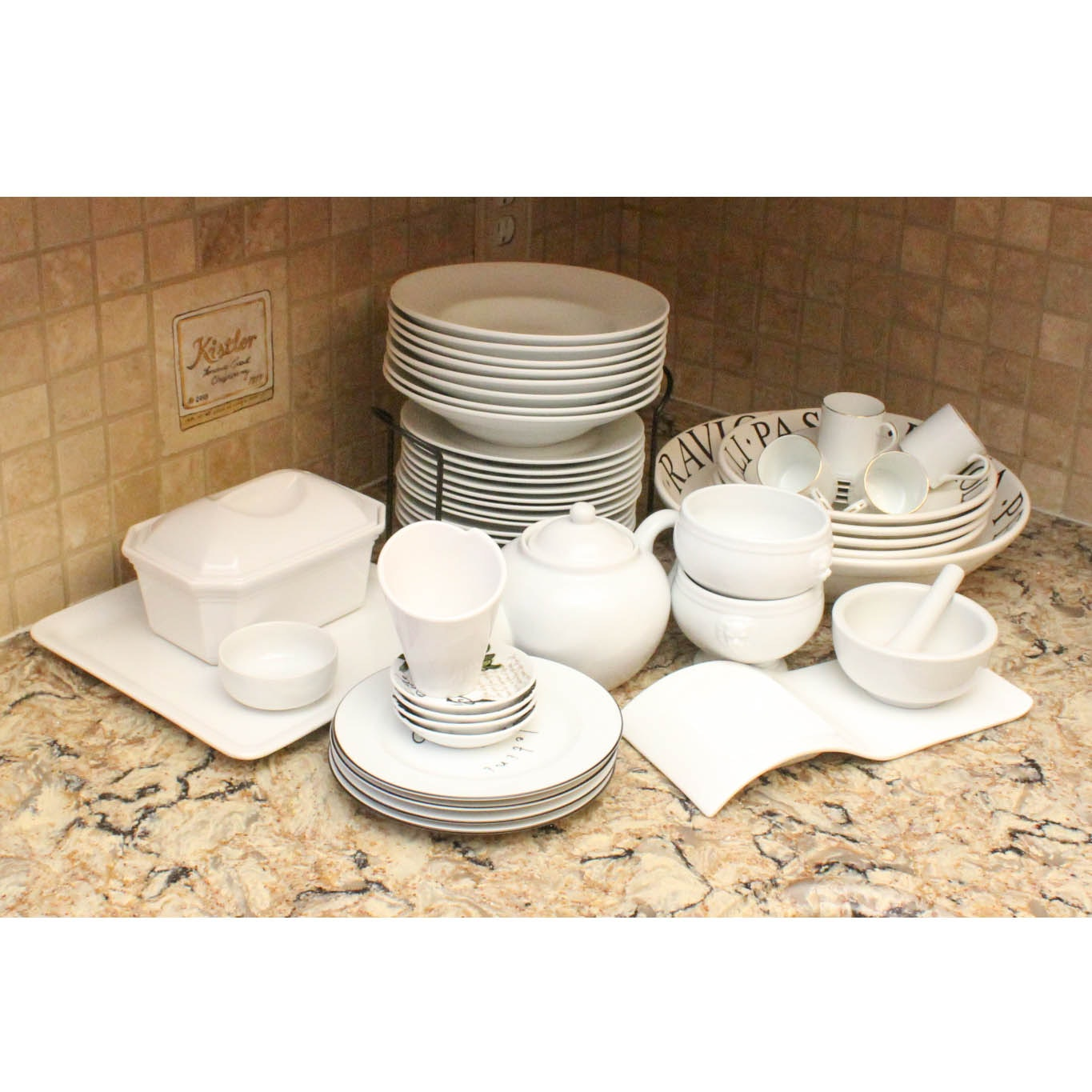 Ceramic Tableware By Revol, Pottery Barn, And More ...