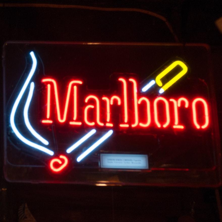 Marlboro Neon Wall Sign