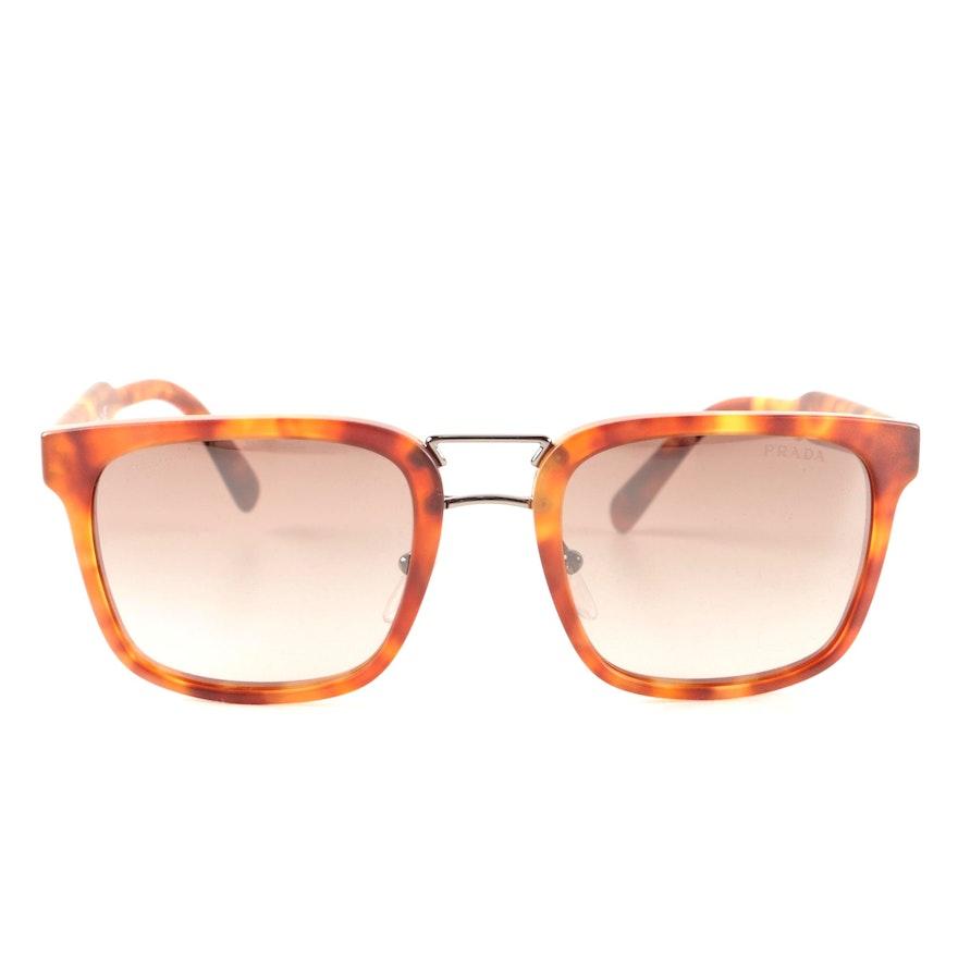 c8cb82776e Prada SPR 14T Tortoiseshell Style Sunglasses   EBTH