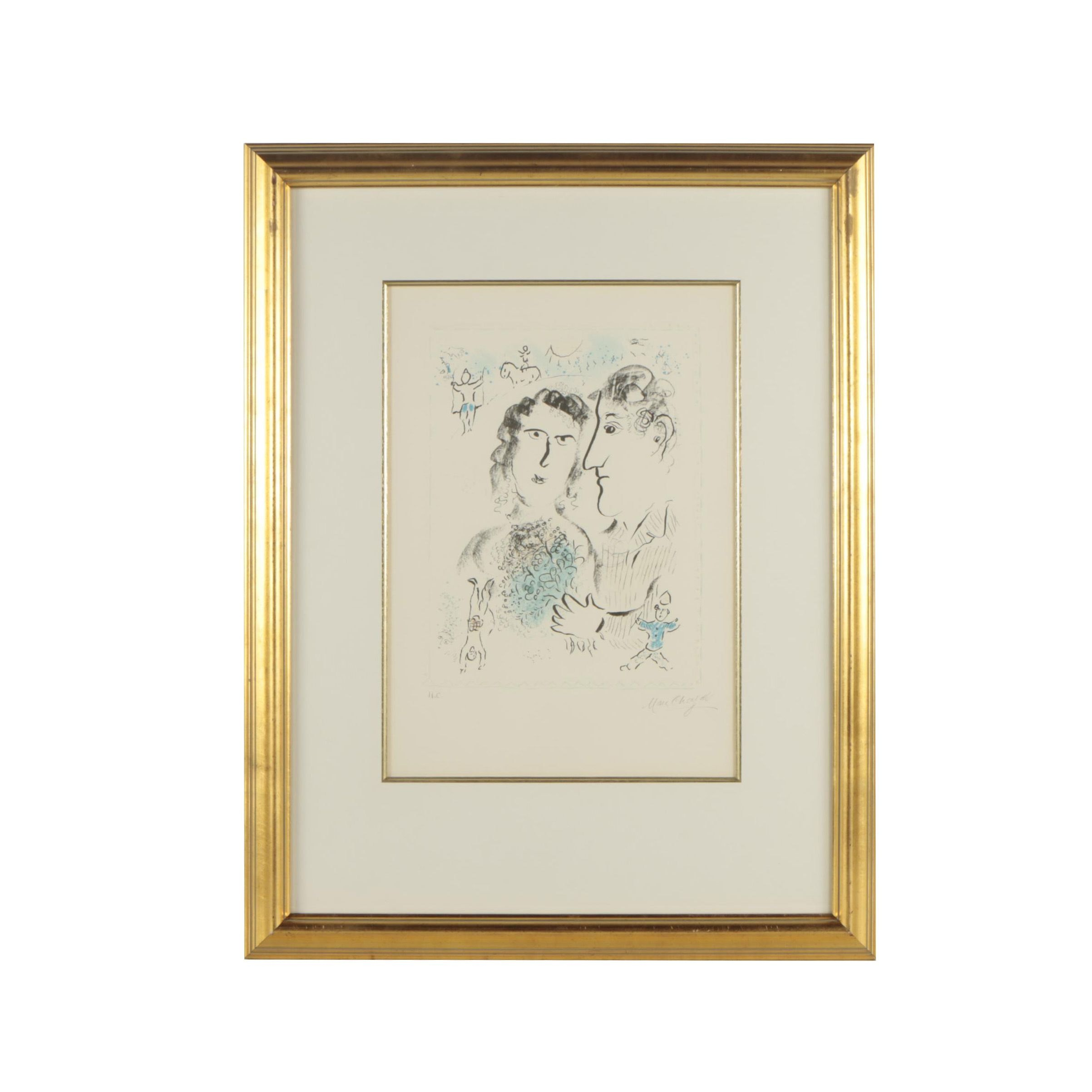 Lithographic Reproduction after Marc Chagall