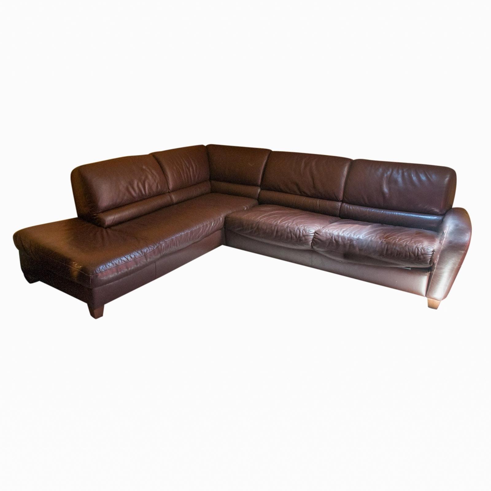 Italsofa Sectional Leather Sofa ...