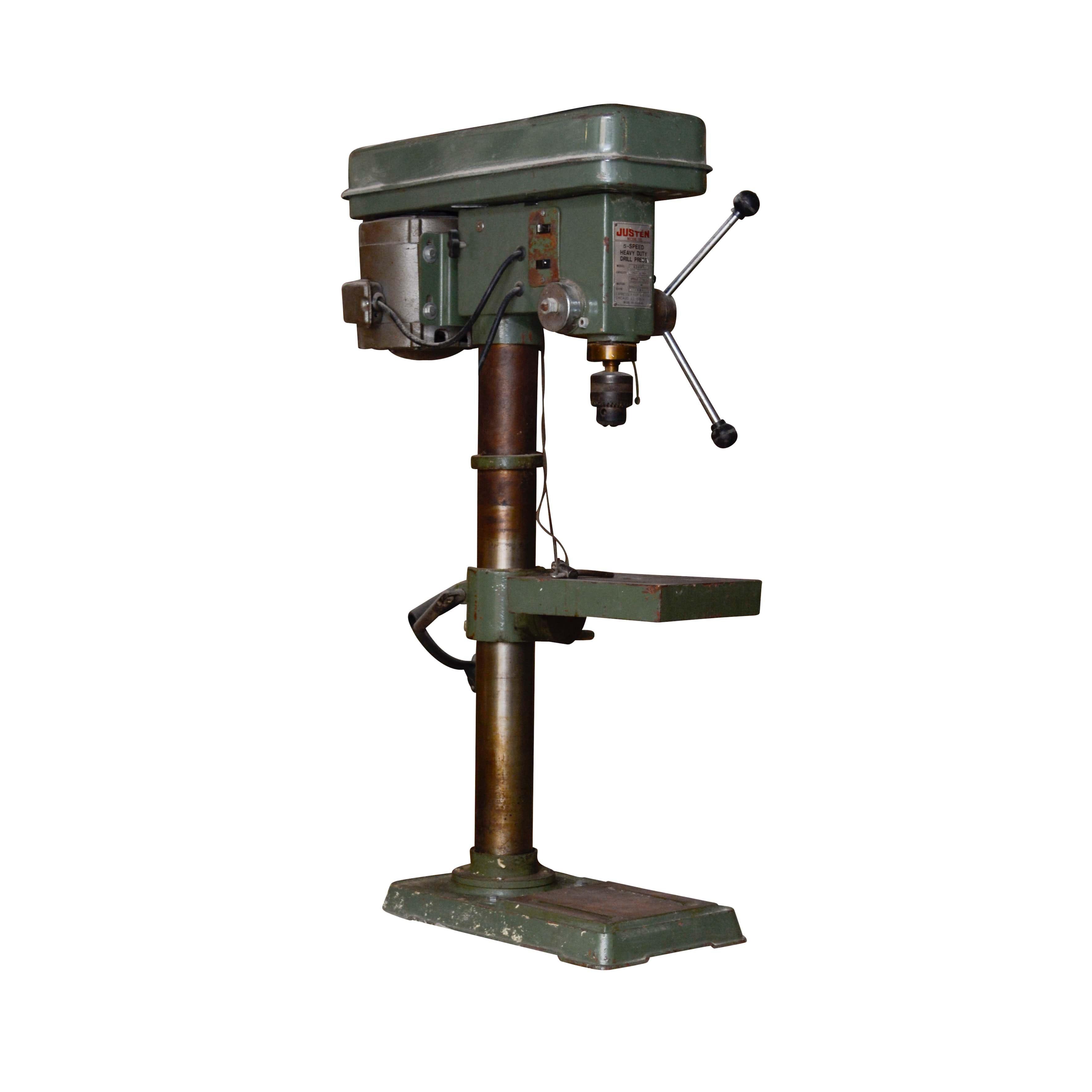Justen Five-Speed Bench Model Drill Press