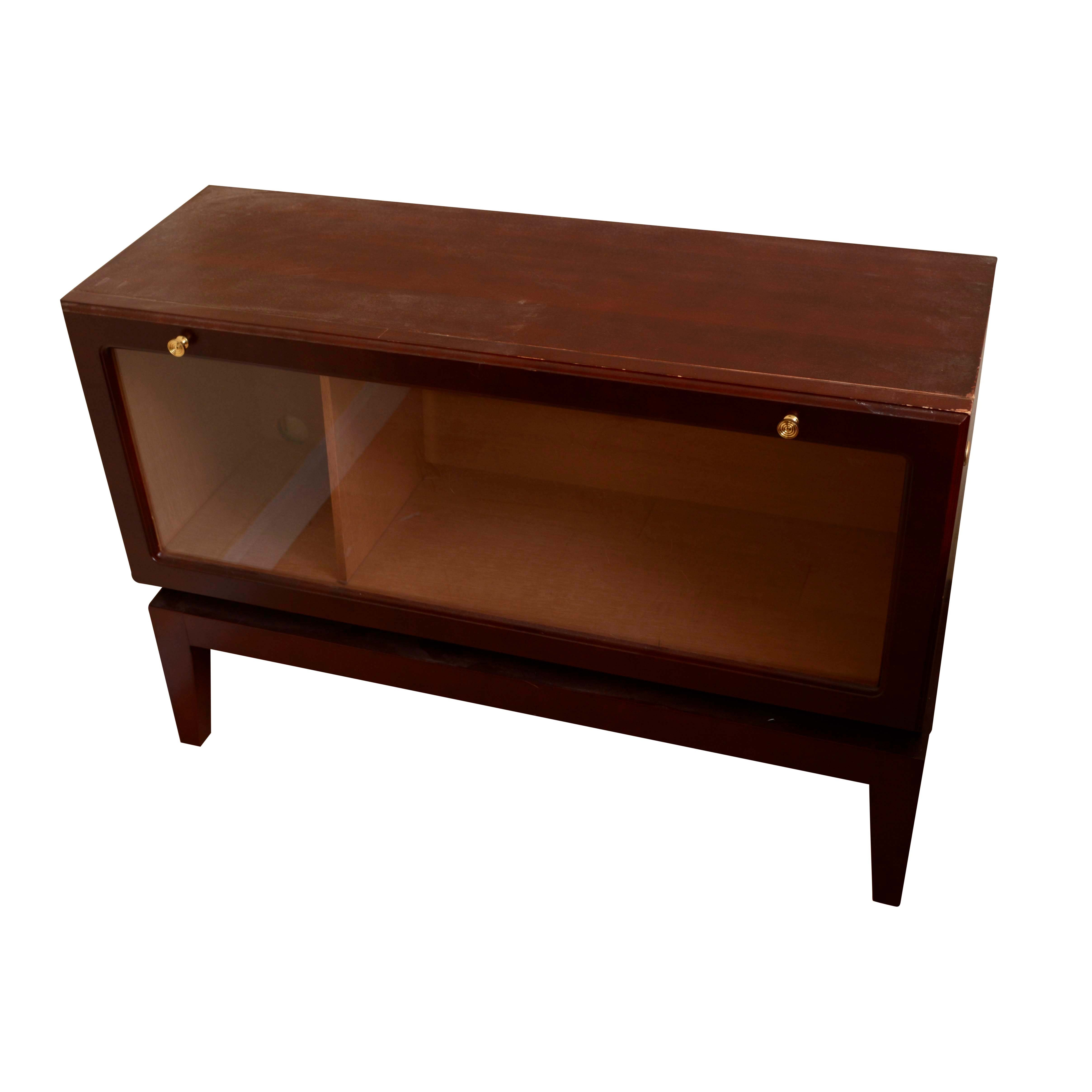 Barrister Style Media Cabinet