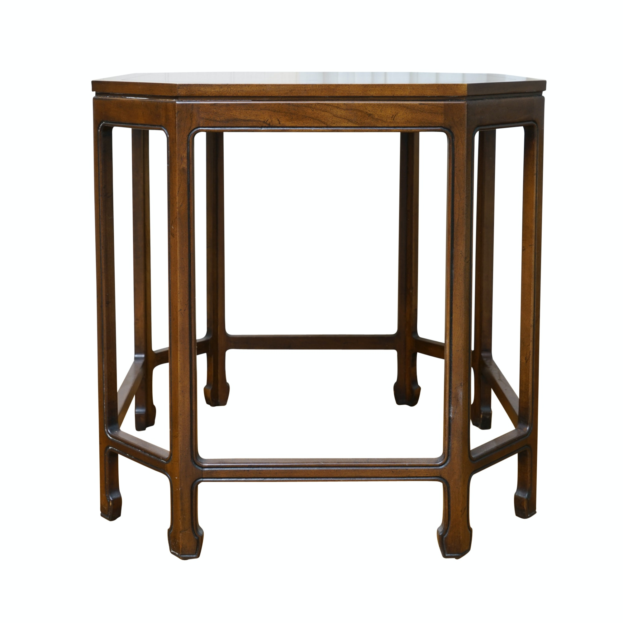 Octagonal Side Table by Kindel