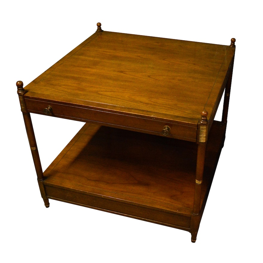Two Tier Side Table By Baker Furniture
