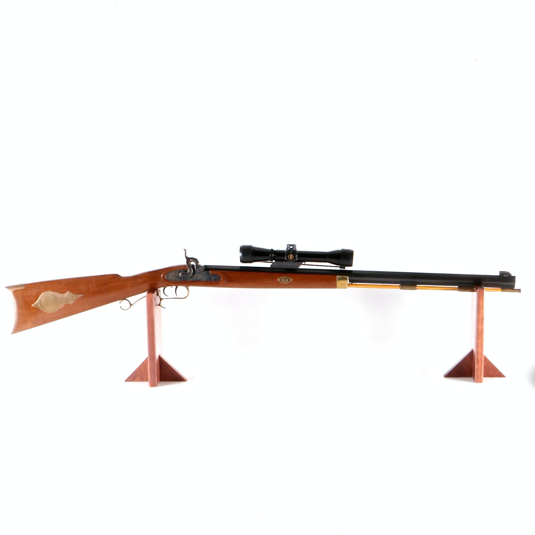 Thompson .50 Caliber Black Powder Rifle with Thompson Center Arms Rifle Scope