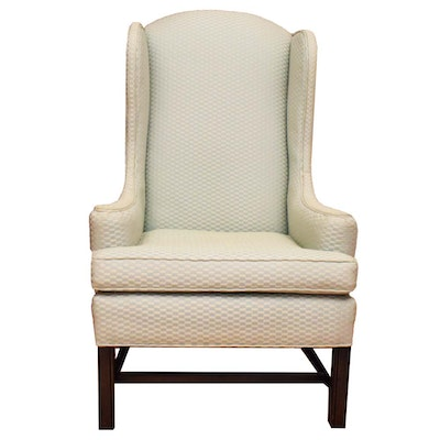 Ethan Allen Wing Back Chair - Vintage Chairs, Antique Chairs And Retro Chairs Auction : EBTH