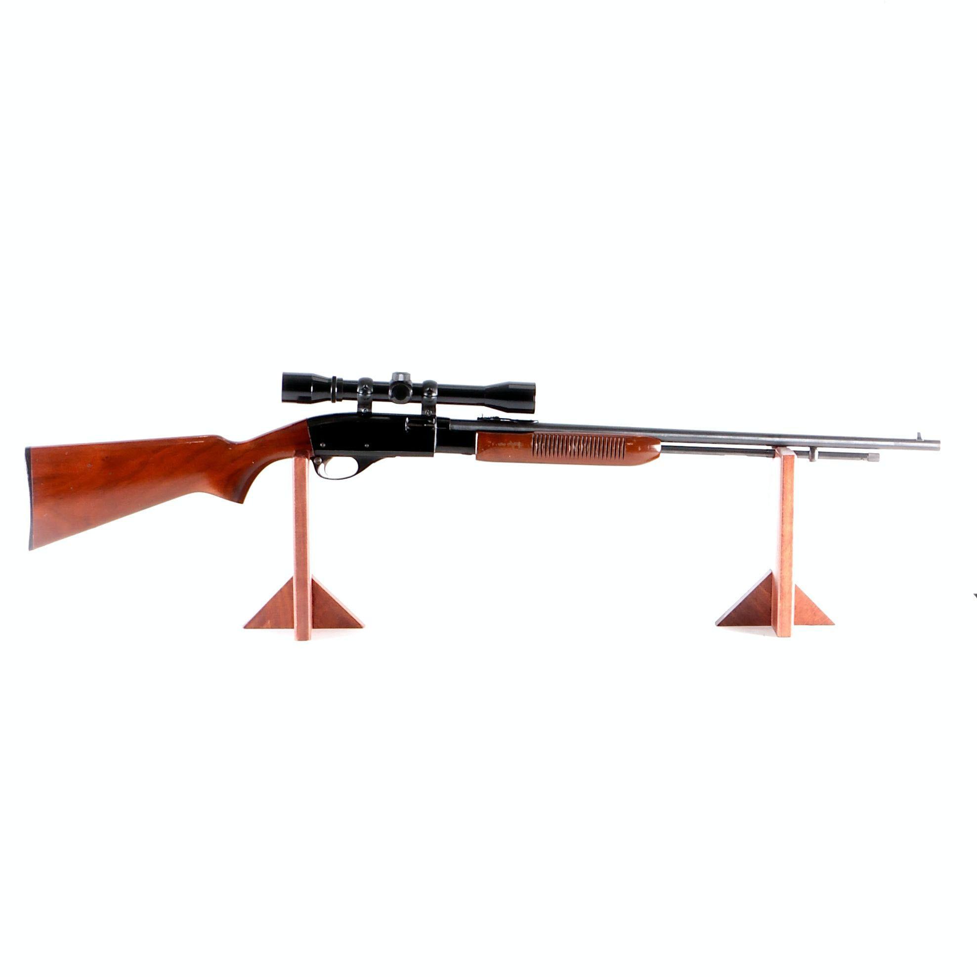 Remington Model 572 Fieldmaster 22 LR Rifle with Bushnell Sportview Scope