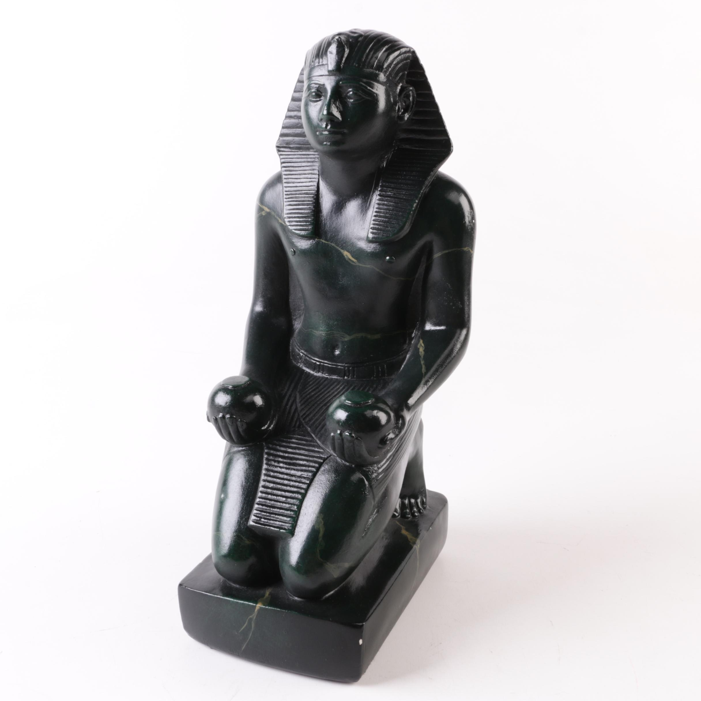 Museum Co. Black Cast Resin Egyptian Style Figurine