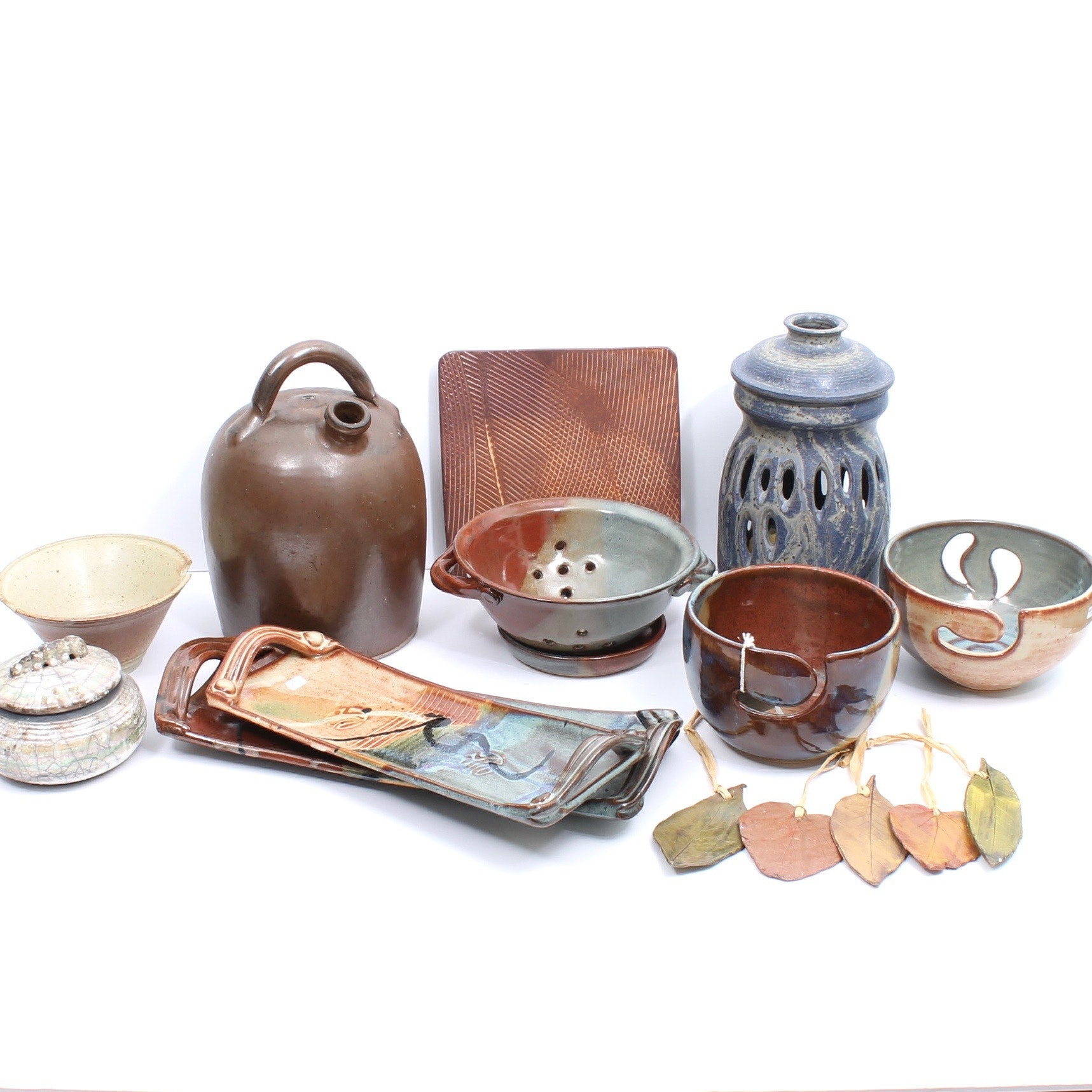 Borthwick Hand Thrown and Built Art Pottery Collection