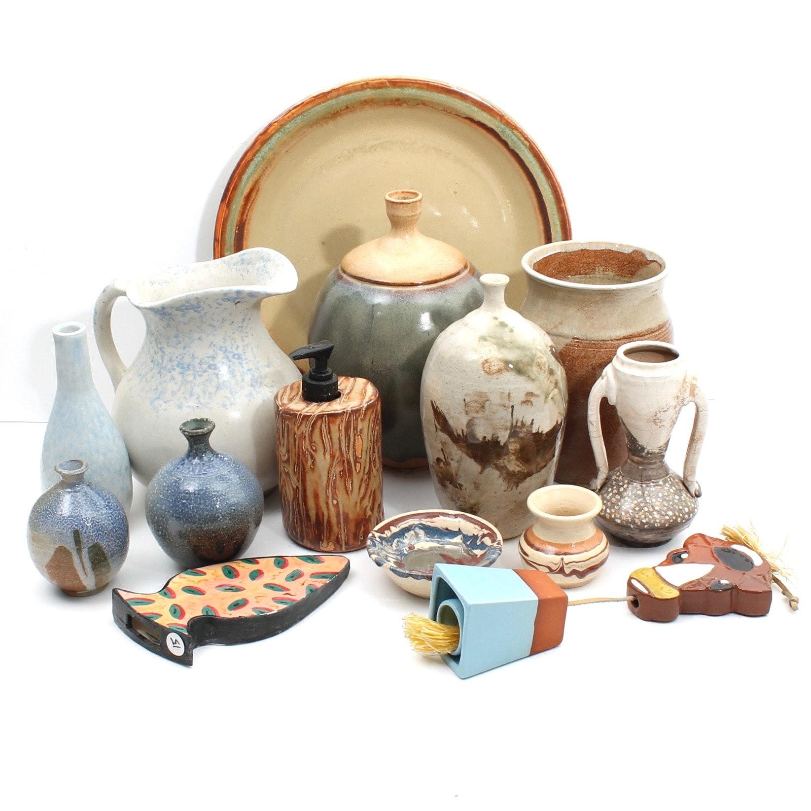Borthwick Hand Thrown Stoneware Home Accessories and Decor