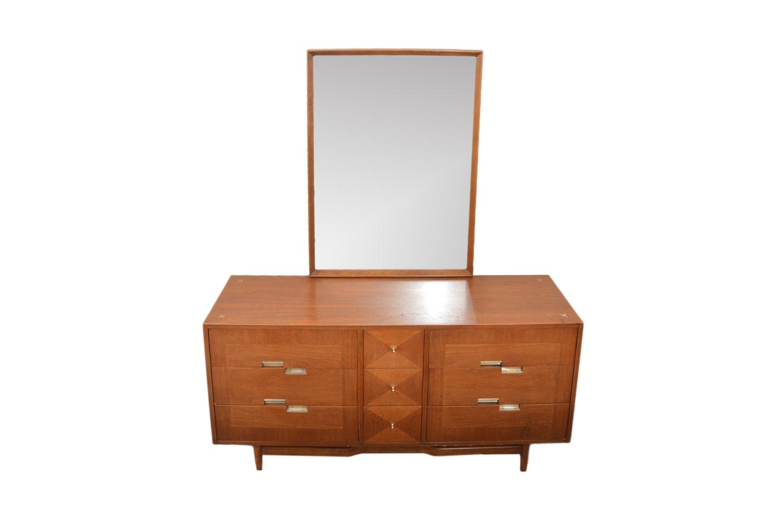 Mid Century Modern Dresser by American of Martinsville