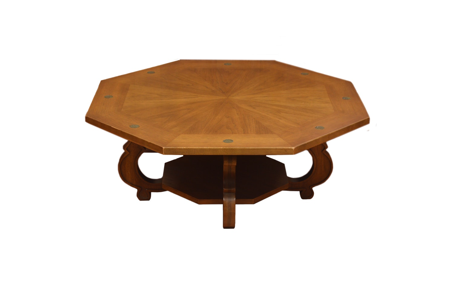 """Espenanto"" Octagonal Coffee Table by Drexel"