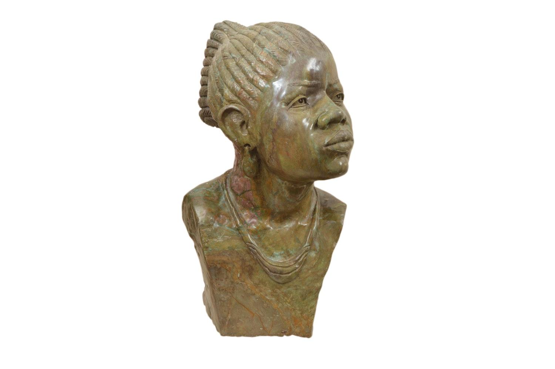 John Chihowa Stone Sculpture