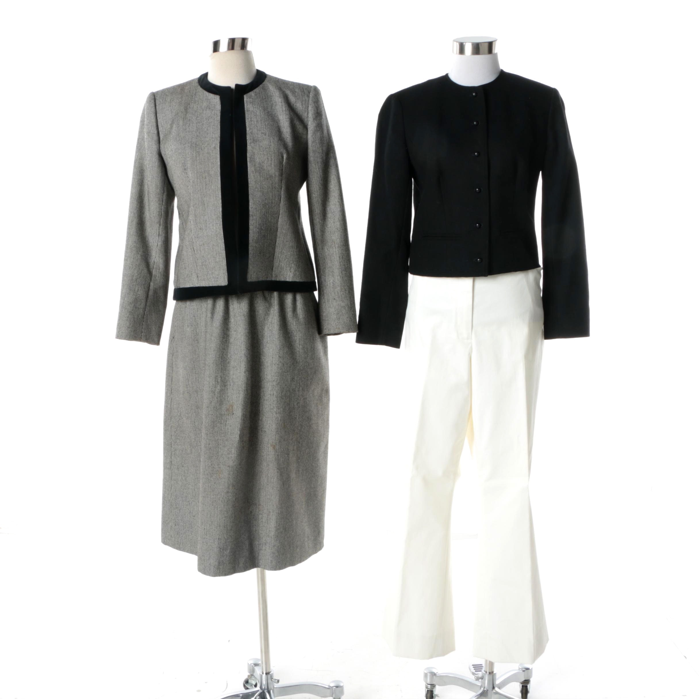 Women S Evan Picone Skirt Suit And Separates Including Faconnable