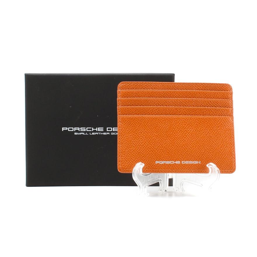 a49c54cc2fca00 Porsche Designs French Classic Leather Card Holder : EBTH