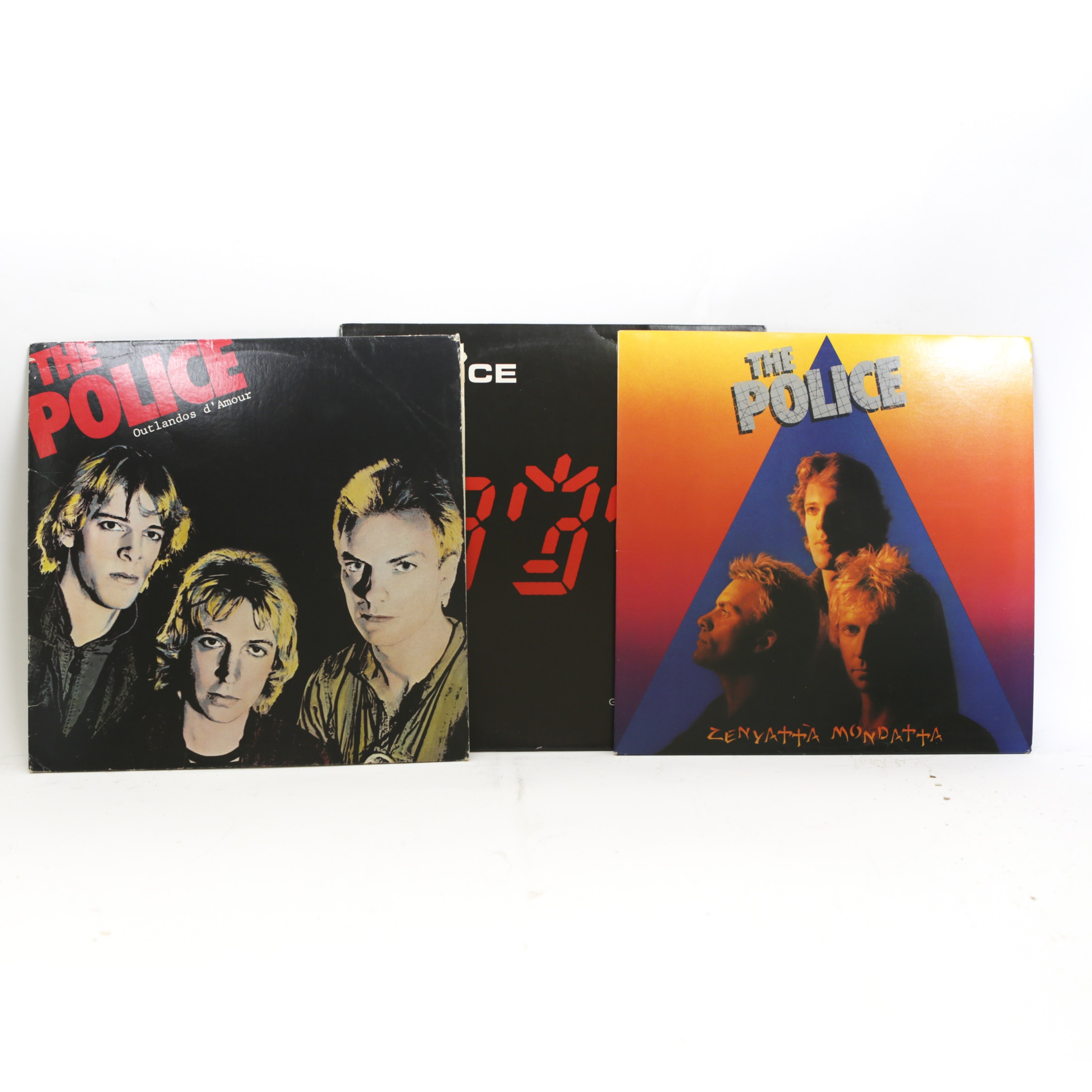 "The Police LP Records, Including ""Zenyatta Mondatta"""