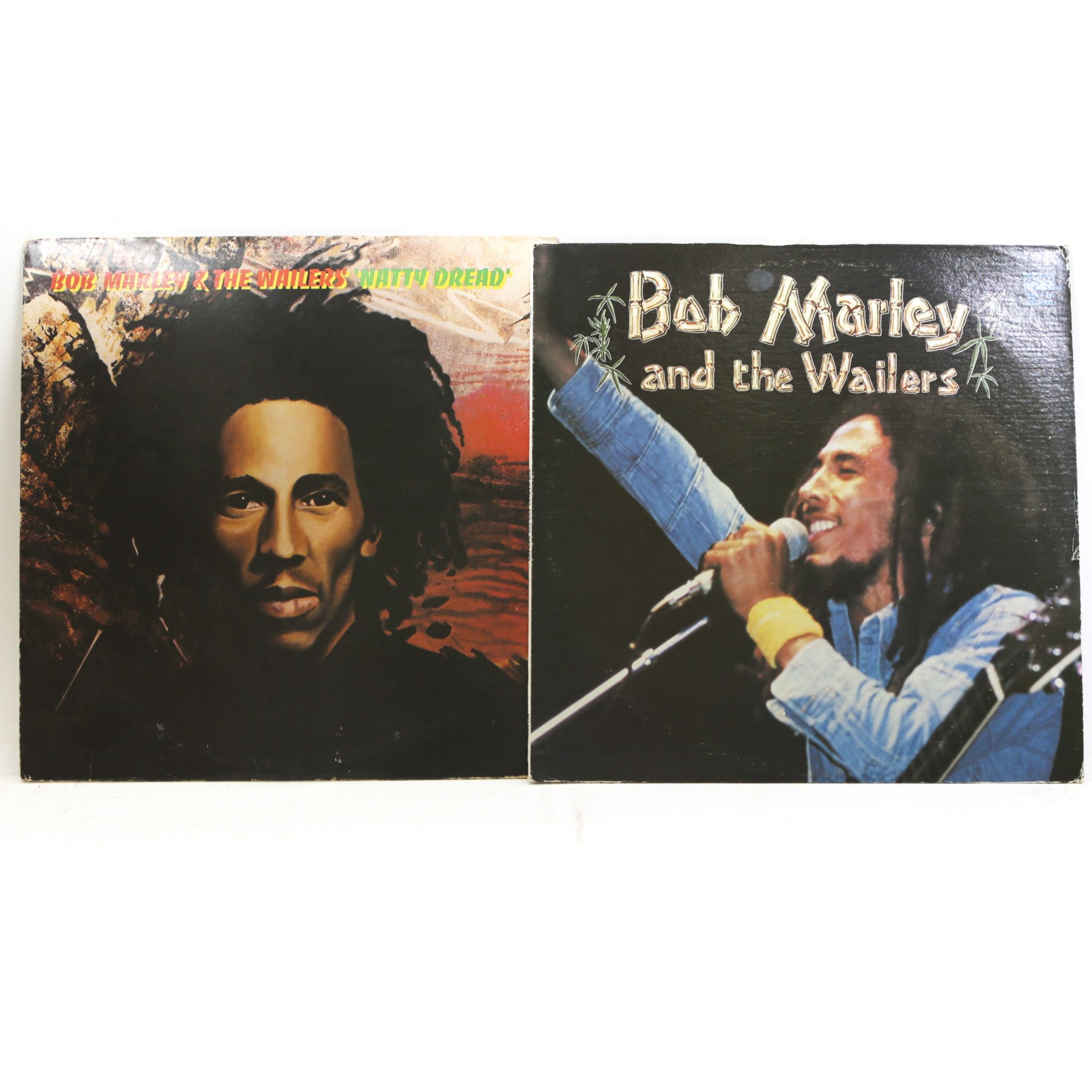"""Bob Marley And The Wailers """"Natty Dread"""" and """"S/T"""" LP Records"""