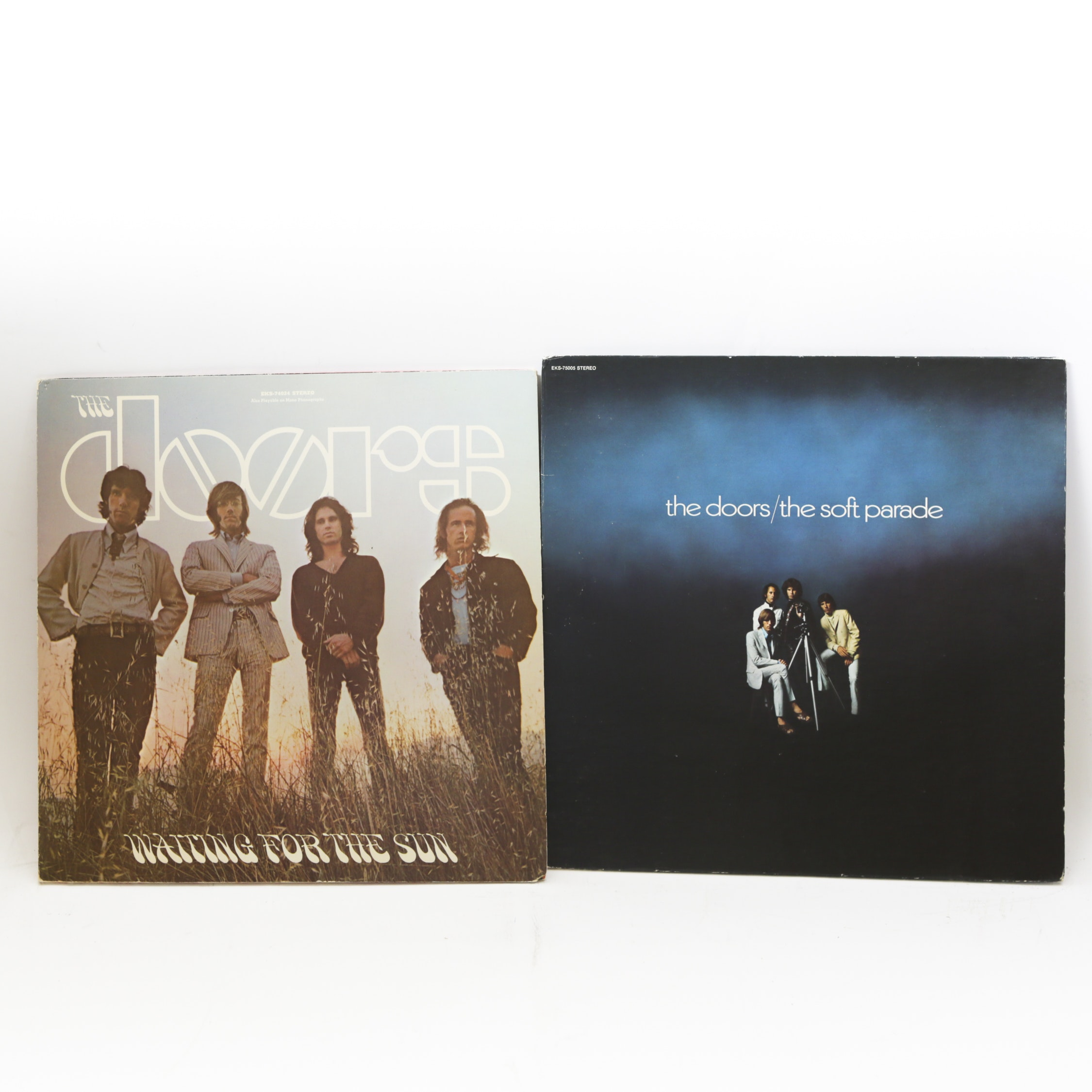 "The Doors ""The Soft Parade"" and ""Waiting For The Sun"" LP Records"