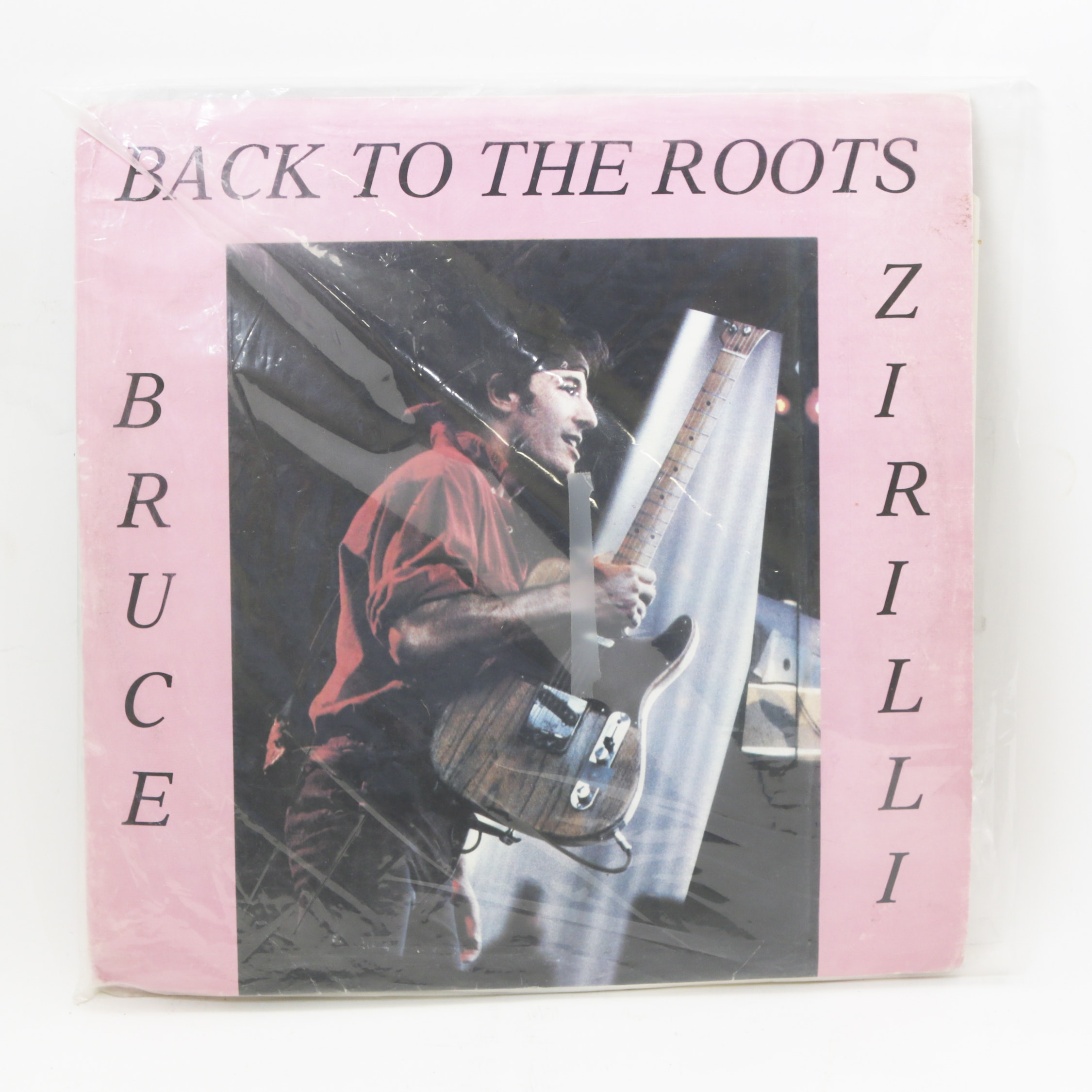 "Bruce Springsteen Italian Pressing ""Back To The Roots Bruce Zirilli"" LP Records"