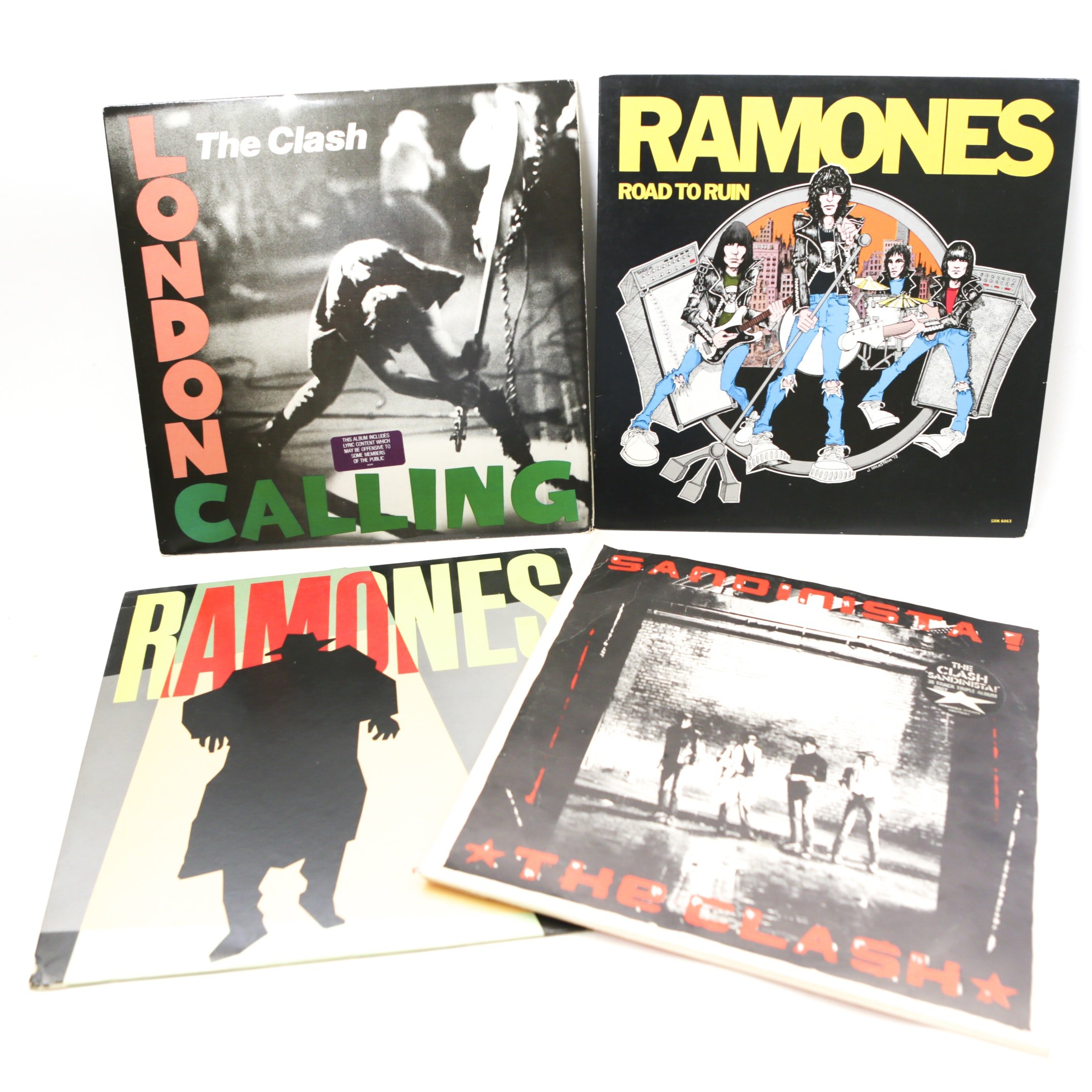 The Ramones and The Clash LP Records