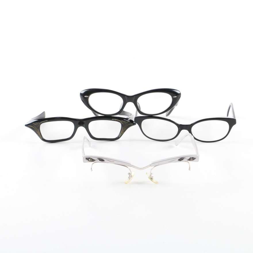 7b730d34e1f Vintage and Vintage Style Eyeglass Frames Including Paul Smith and Bausch    Lomb   EBTH