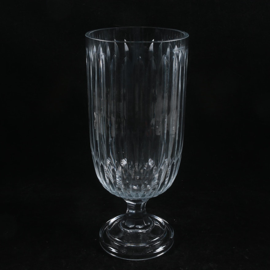 Polish Glass Vase Ebth