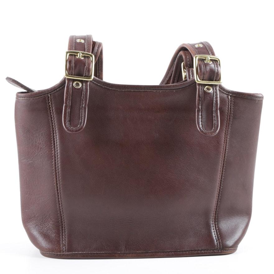 819ac89831e 1998 Coach Legacy Brown Leather Handbag : EBTH