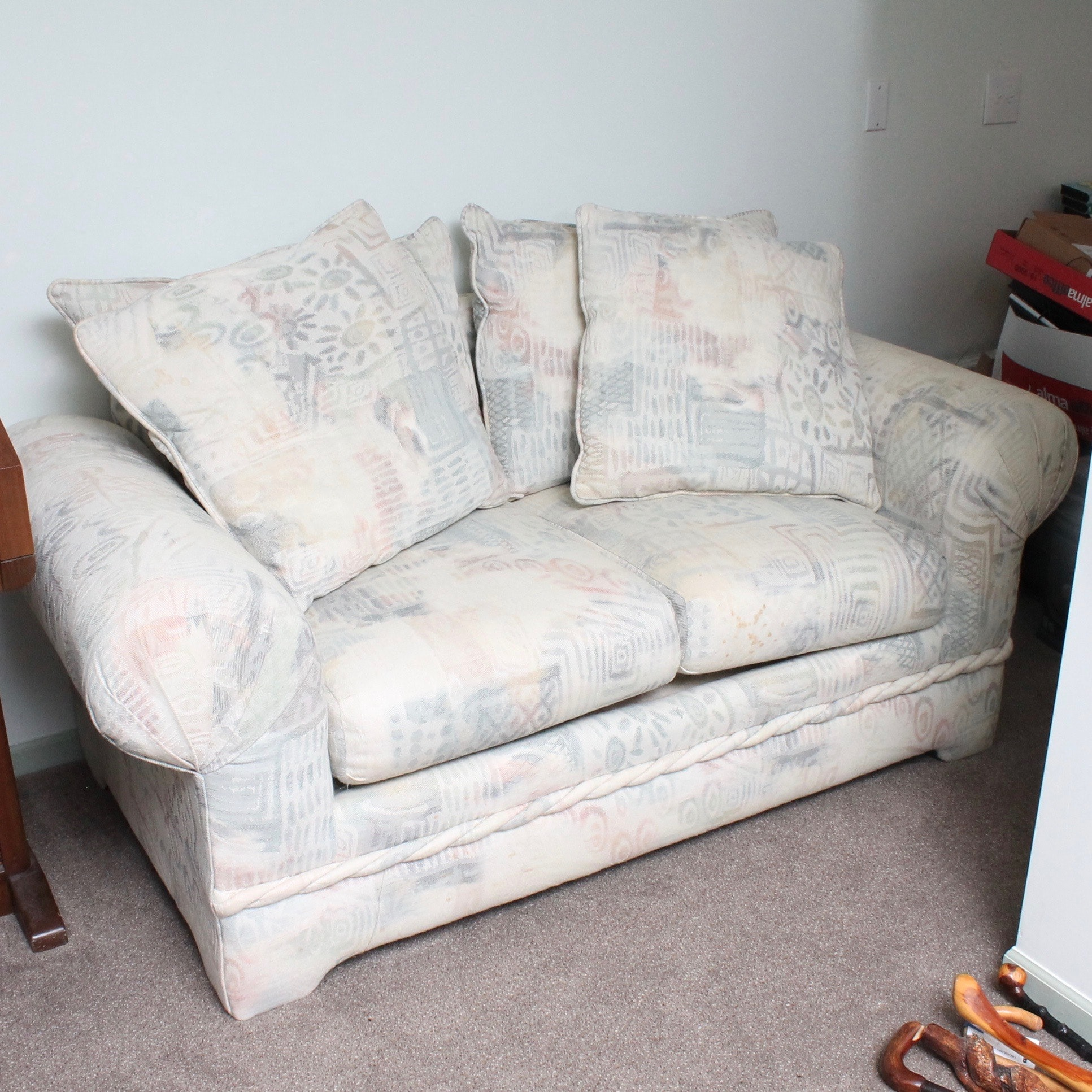 Upholstered Loveseat by Sofa Express