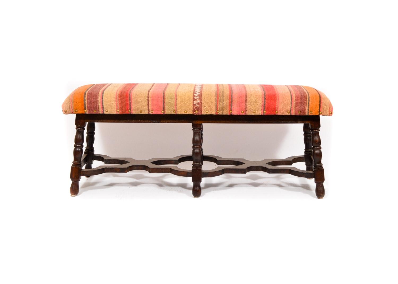 Vintage Kilim Bench