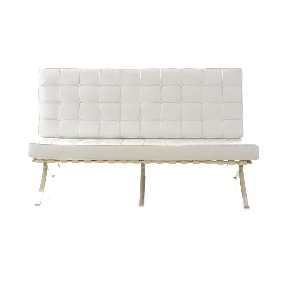 Barcelona Sofa After Mies Van Der Rohe