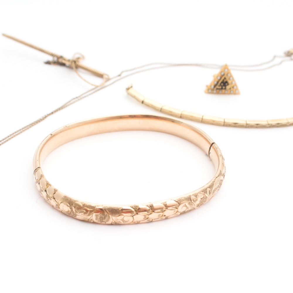 Gold Filled Costume Jewelry Collection
