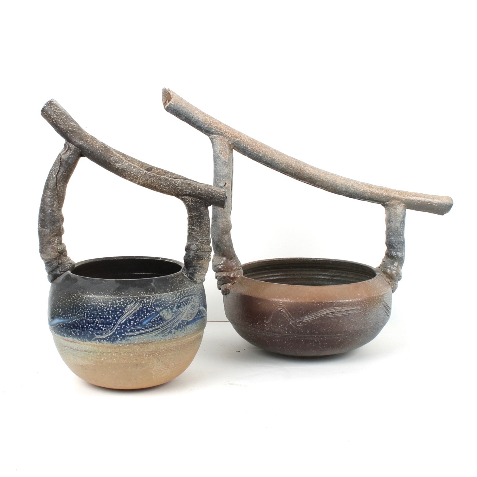 Hand Thrown Japanese Style Bowls by Fred Borthwick