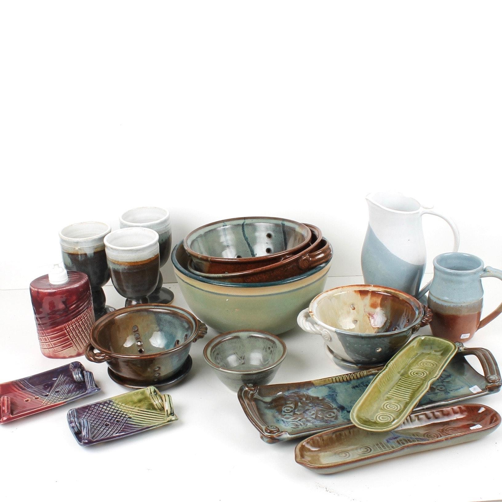 Hand Thrown Ceramic Kitchenware by Fred Borthwick