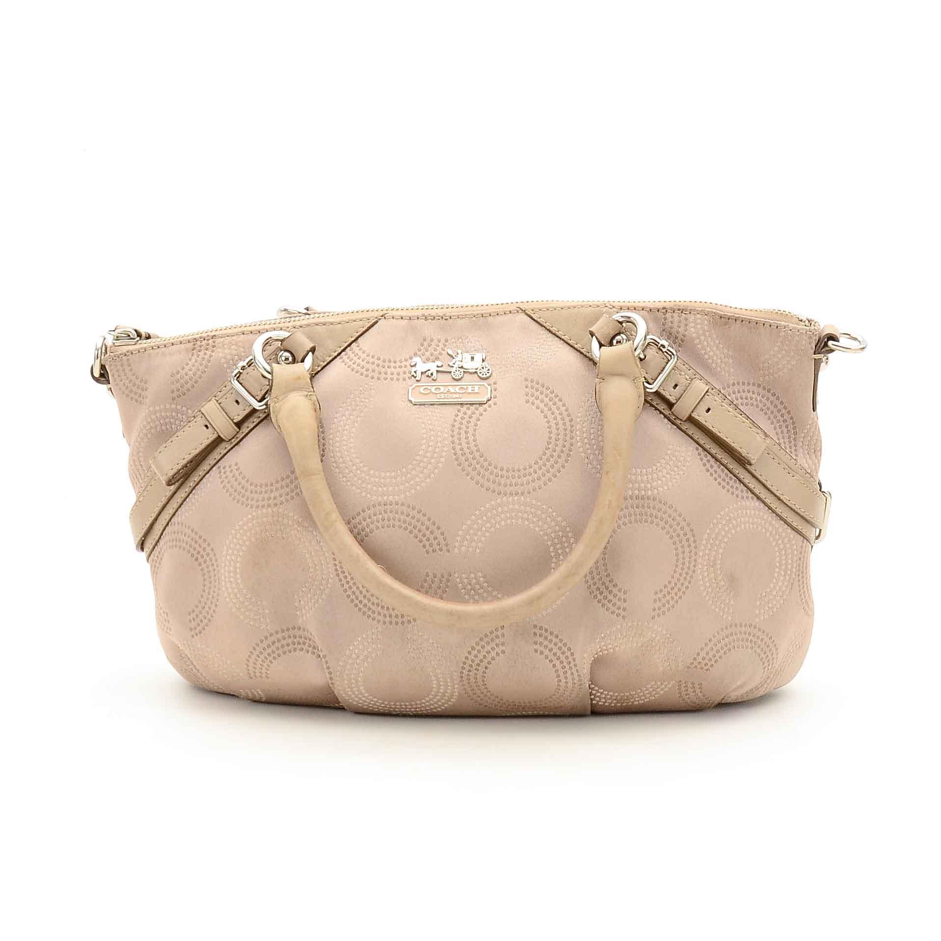 6781e002b9e2 ... shoulder bag 89714 41260  reduced coach madison op art sophia satchel  9a408 0cbc9