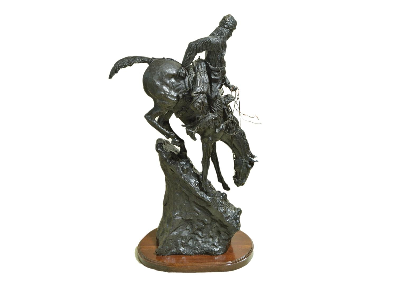 "Reproduction Sculpture After Frederic Remington ""Mountain Man"""