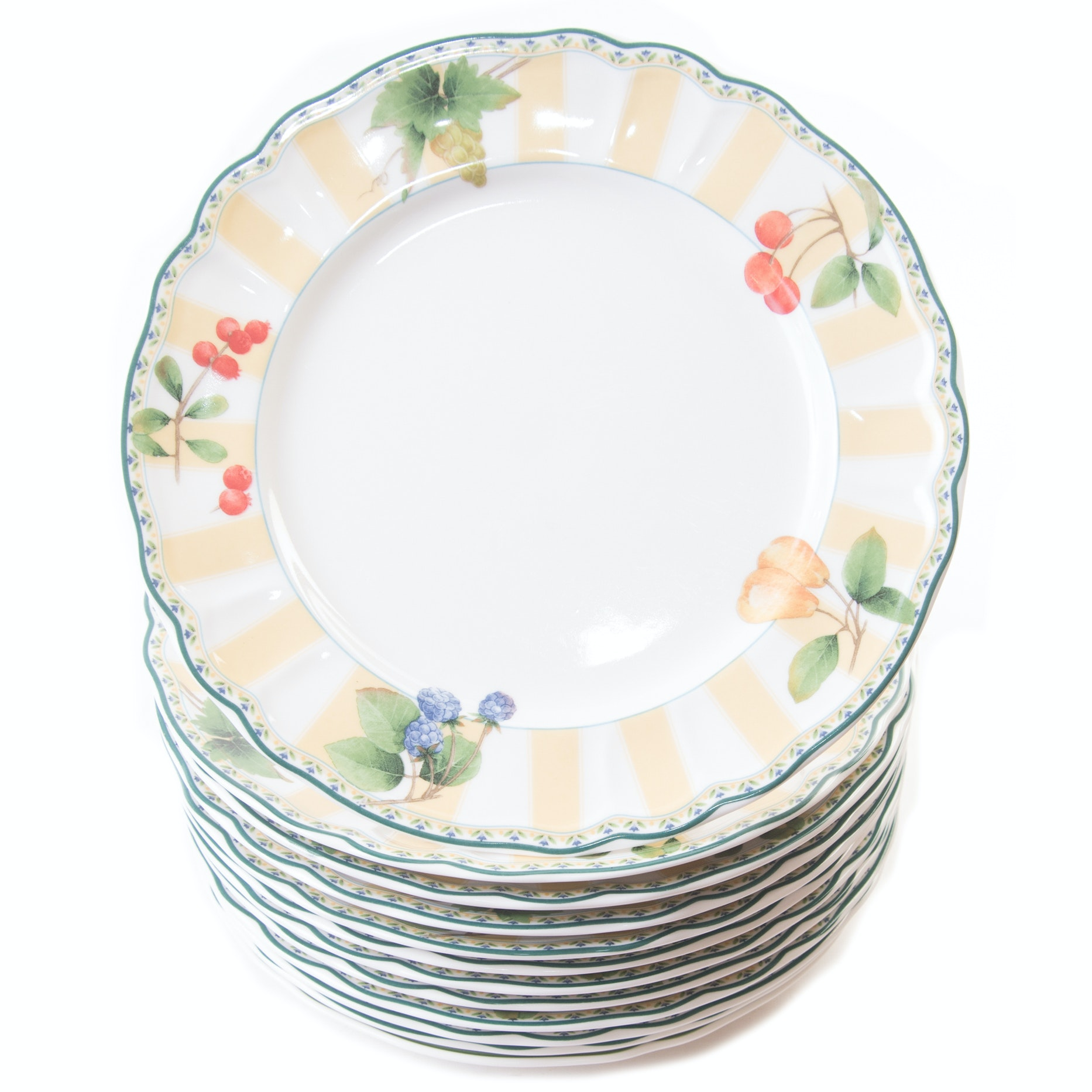 Epoch Collection  Orchard Valley  Dinner Plates ...  sc 1 st  EBTH.com & Epoch Collection