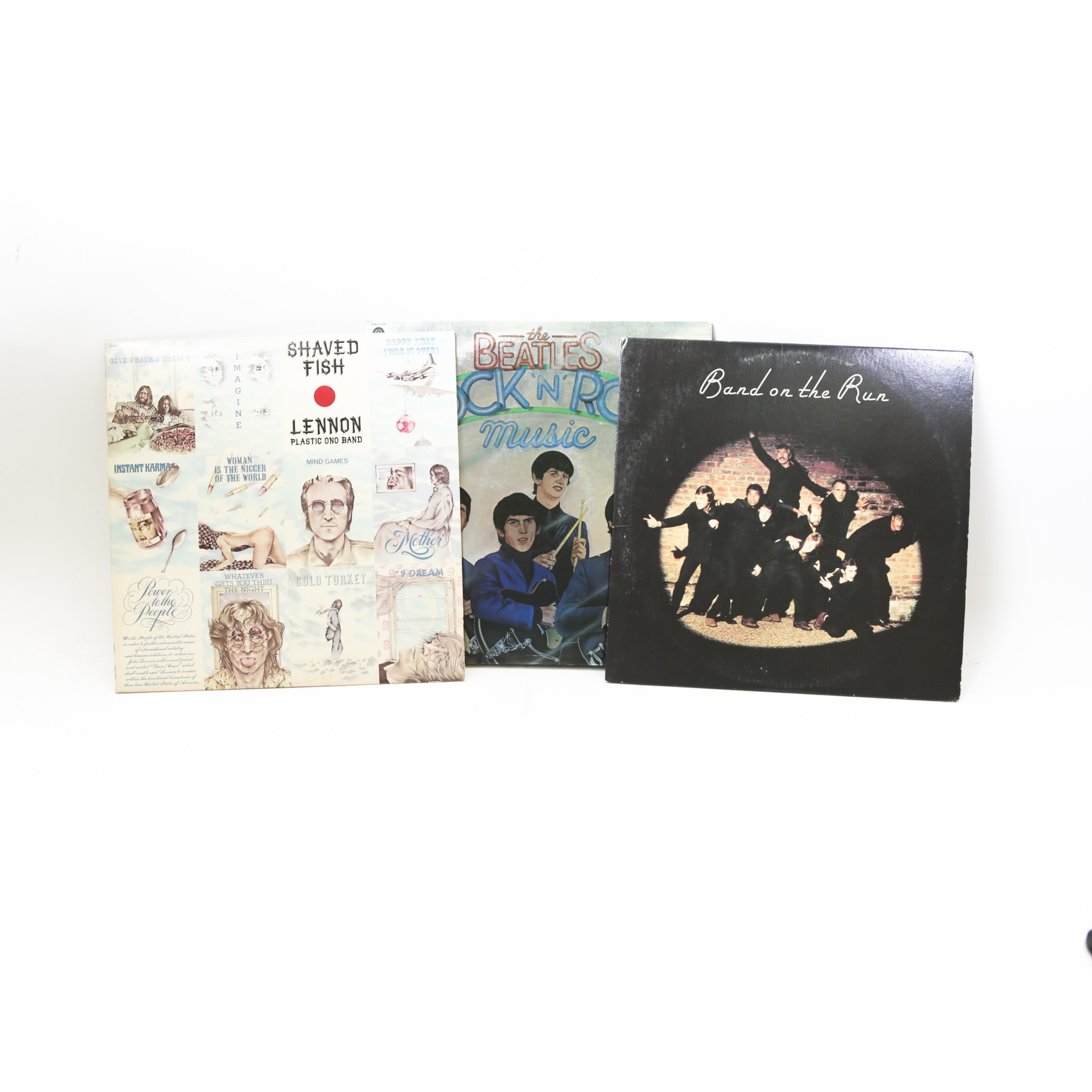 The Beatles and Solo Beatles LP Records
