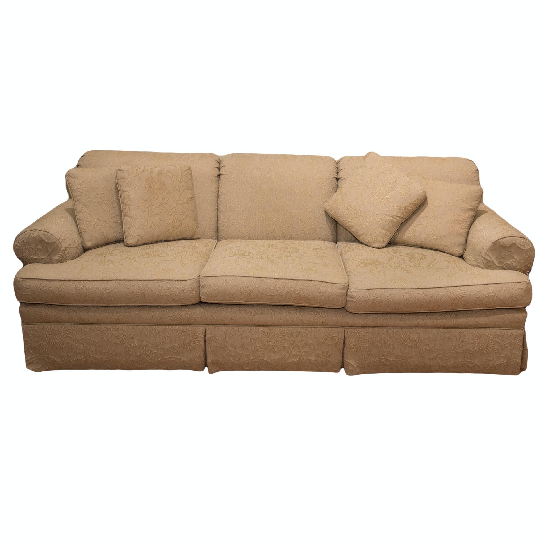 Ethan Allen Upholstered Sofa
