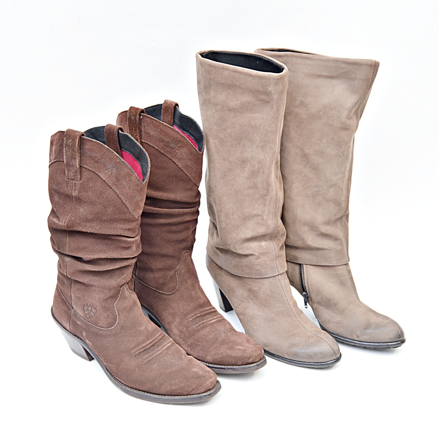 Women's Designer Boots with Ariat and Paul Green