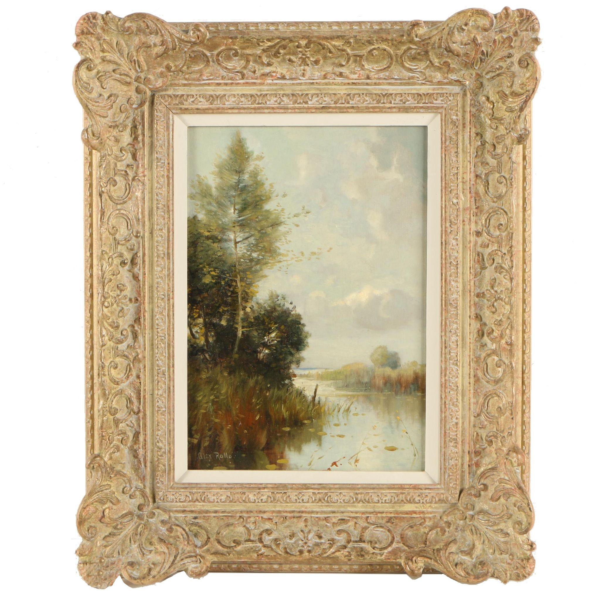 Alex Rollo Landscape Oil Painting