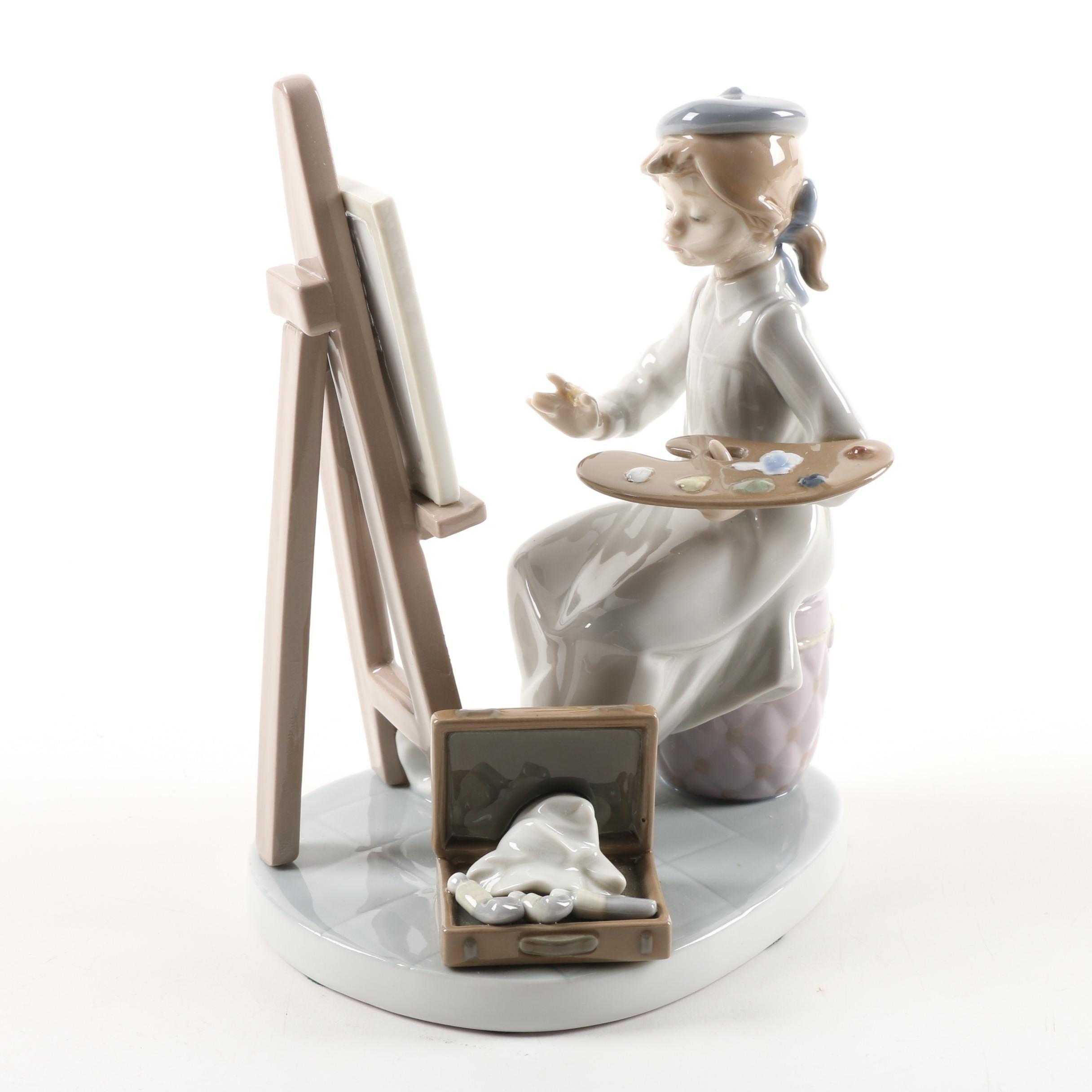 """Lladró Circa 1990s """"Still Life"""" Figurine #5363"""