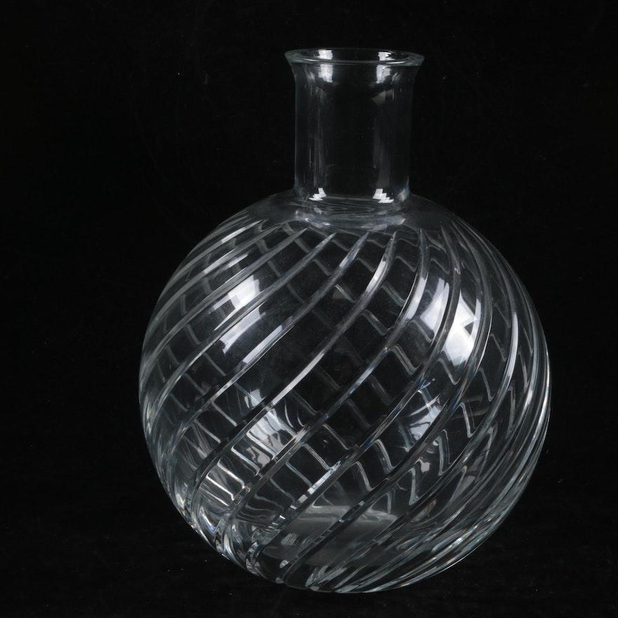 Baccarat Crystal Cyclades Bud Vase Ebth