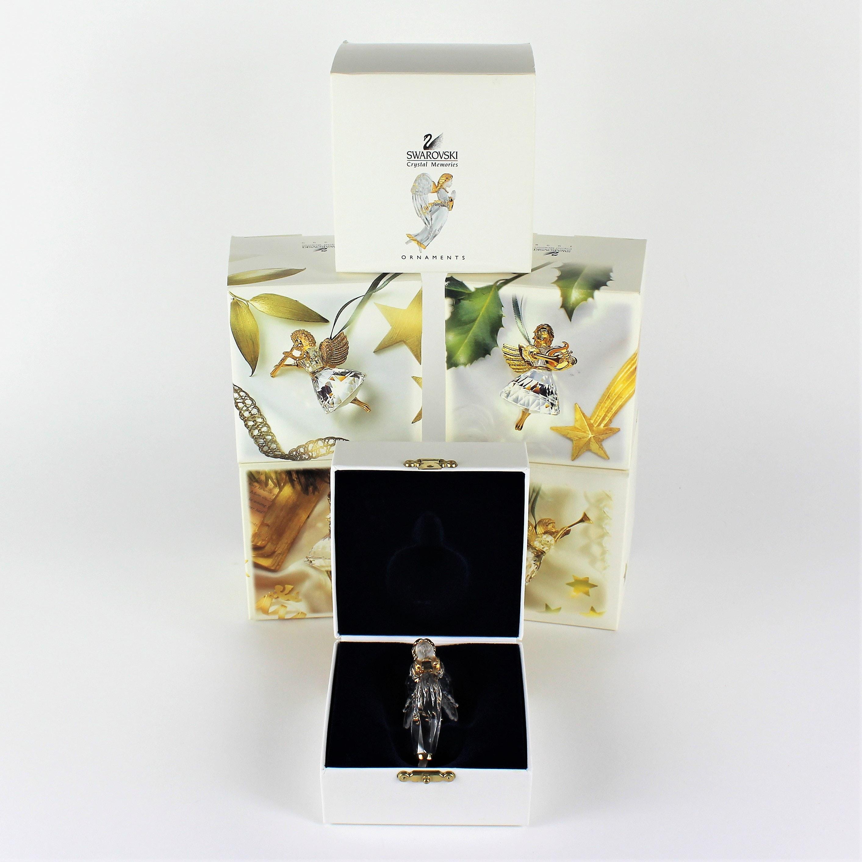 Swarovski Crystal Angel Ornaments