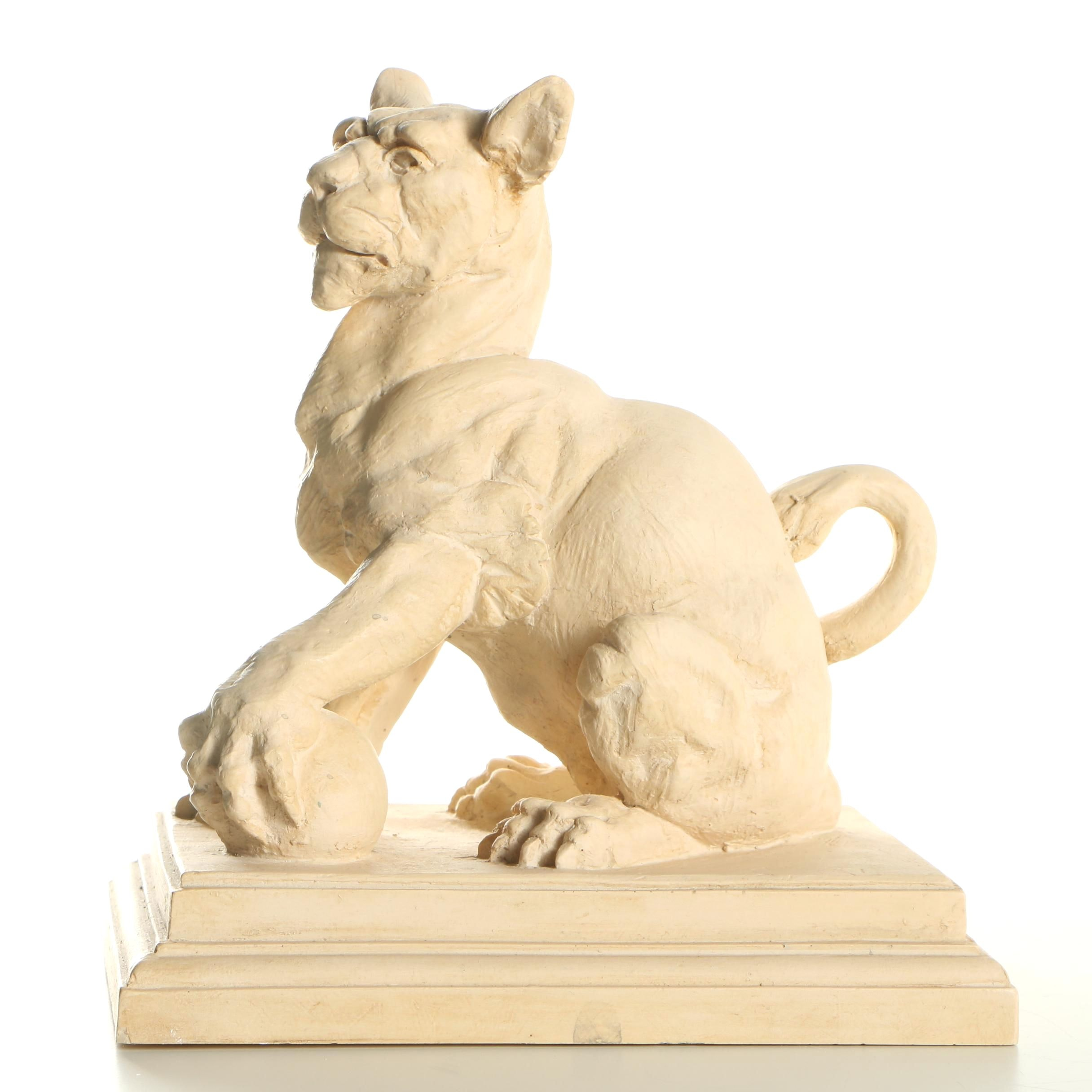 Biltmore Estate Goose Creek 1994 Guardian Lion Figurine